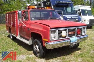 1986 GMC 3500 Sierra Utility