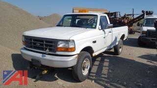 1996 Ford F250 XL Pickup Truck