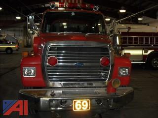 1990 Ford LN8000 Fire Pumper RS