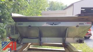 3 yd Swenson Stainless Steel Spreader