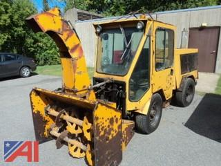 1995 Trackless MT 5T Sidewalk Snow Blower