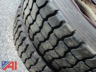 (4) Goodyear Unisteel Tires