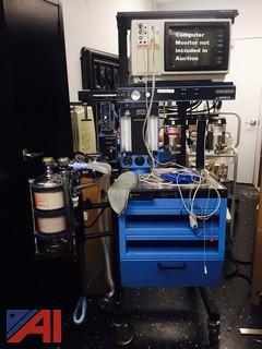 Misc Equipment- including Anesthesia Machine, Refrigerator, Sofa & Carts