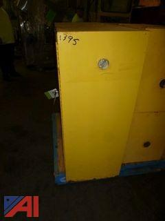 (2) Fire Proof Cabinets
