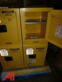 (4) Flame Proof Cabinets