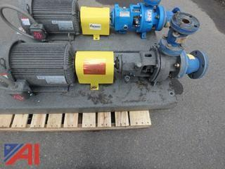 10hp Pump Skid, complete with 1.5 x 3 Goulds pump