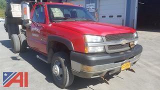 2003 Chevrolet Silverado 3500 Pickup w/ Dump