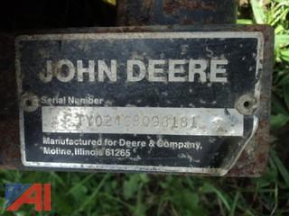 John Deere 246 Front Broom Sweeper