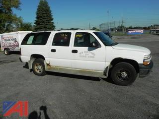 2002 Chevrolet Suburban SUV