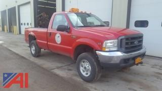 2002 Ford F-250XL Super Duty Pickup Truck