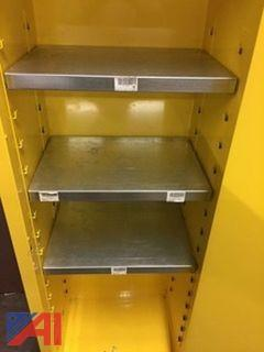 Justrite Flammable Fireproof Cabinet