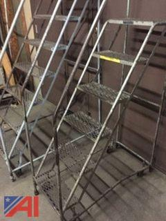 (2) Rolling Stairs