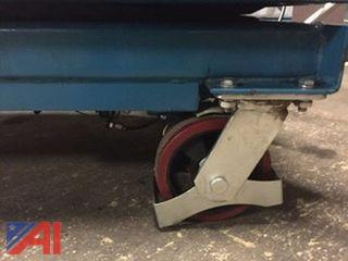 Heavy Duty Lift Cart With Brake