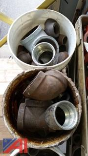 Extensive Lot of Cast Iron Pipe Fittings