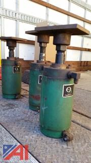 (3) Ortman Miller Air Cylinders