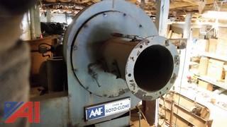 "AAF Roto Clone Dust Vacuum System Type W 8"""