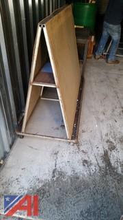 (2) A Frame Panel Heavy Duty Carts
