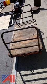 (2) Heavy Duty Factory Carts