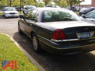 2005 Ford Crown Victoria Police Interceptor 4 Door Sedan