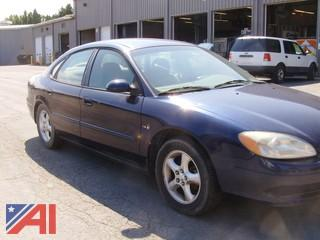 2000 Ford Taurus SE 4 Door Sedan