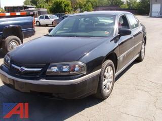 2004 Chevrolet Impala 4 Door Sedan
