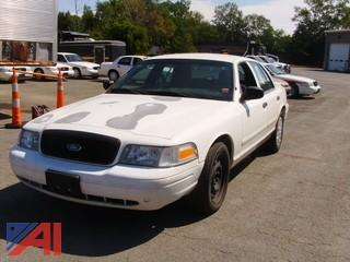 2008 Ford Crown Victoria 4 Door Sedan/Police Interceptor