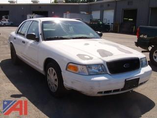 2008 Ford Crown Victoria 4 Door Sedan/Police Interceptor