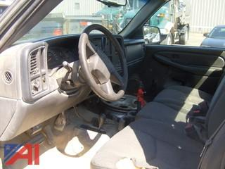 2003 Chevrolet Silverado Pick Up, Regular Cab Shortbox 4x4