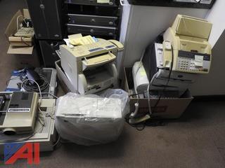 Various Fax Machines