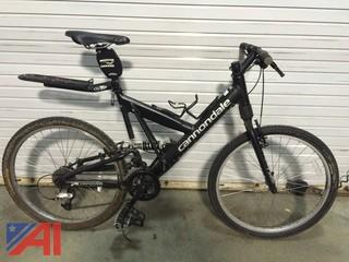 Cannondale Super-V Police Full Suspension Bicycle
