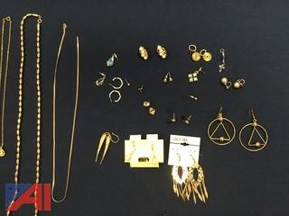 Lot of Unclaimed Jewelry