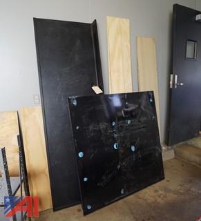 2 Piece Heavy Lab Countertop Units