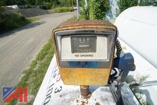 Morrison Brothers 1000 Gallon Stationary Gasoline Fuel Tank/Gasboy