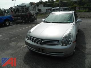 2004 Infiniti G35 4DRSD