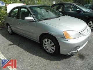 2001 Honda Civic 4DRSD