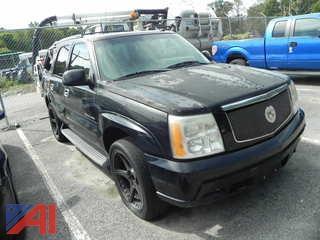 2002 Cadillac Escalade SUV