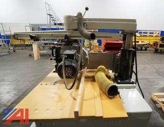 """Delta #33-401 Industrial 14"""" Long Arm Radial Saw/Bevel/101741"""