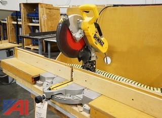 "DeWalt DW706 12"" Dual Bevel Compound Miter Saw/100559"