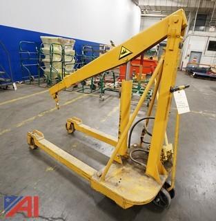 ATI/Husky 4000LB Mobile Hydraulic Floor Crane #HM4000A