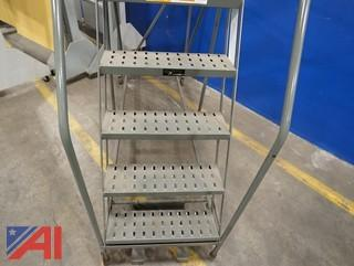 EGA Industrial Rolling Ladder/Mobile Staircase/12 Stair