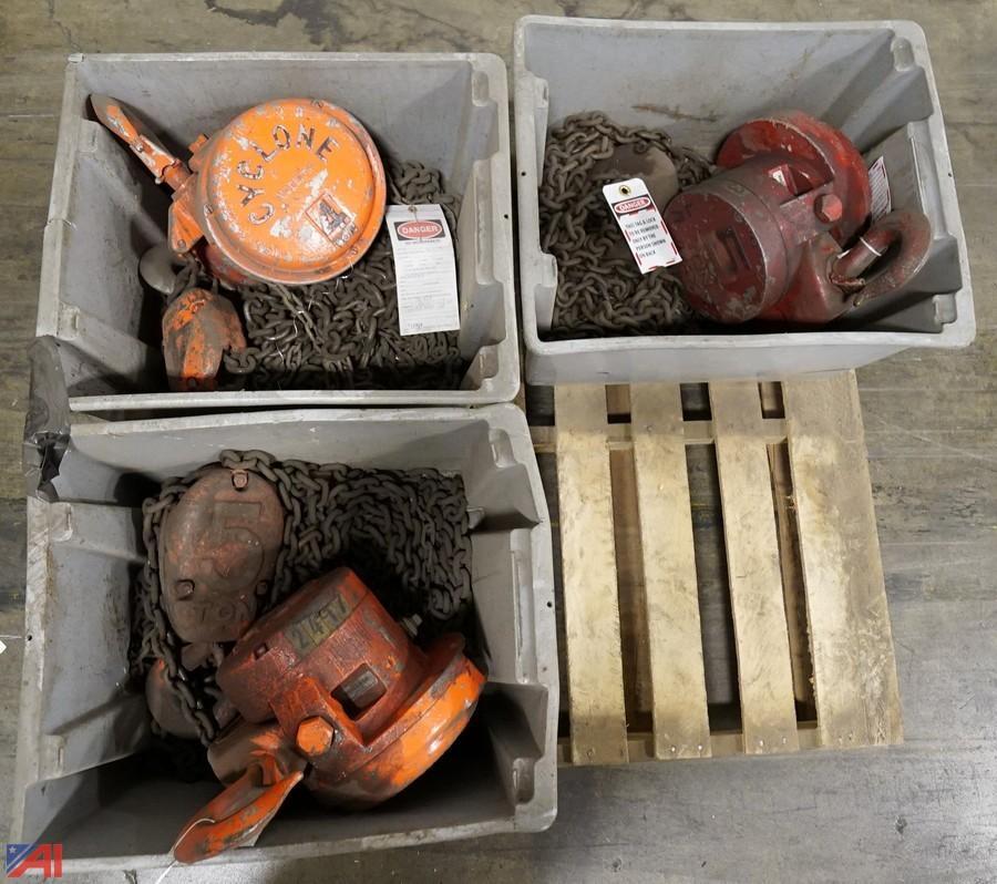 Industrial Metalworking & Rigging Surplus #8817