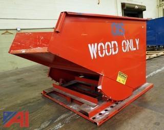 MECO, 1 Ton, 2-Yard Self Dumping Hopper/2000LBS