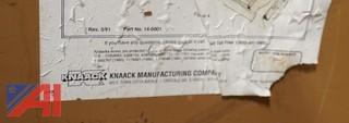 Steel Knaack Roll Around Gang Tooling Box/5'