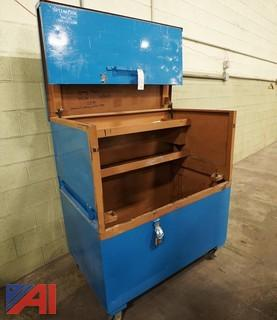 Steel Knaack Roll Around Gang Tooling Box/5'
