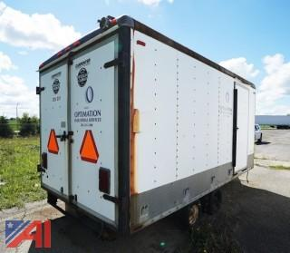 **Pictures Updated** 1988 Wells Cargo Enclosed Trailer/001