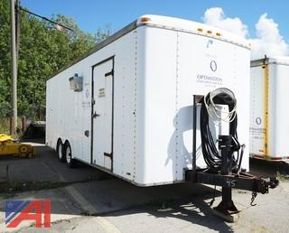 1993 Pace American 23' Enclosed Utility Trailer/010
