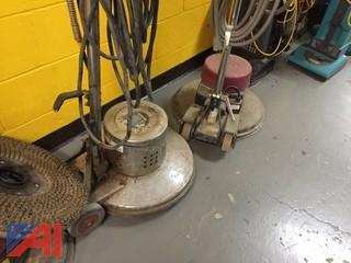 Lot of 3 Floor Buffing Machines