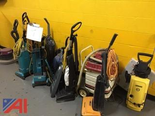 Large Lot of Various Vacuum Cleaners