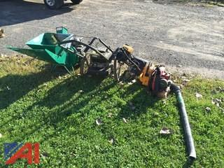Lot of Various Landscaping Machines