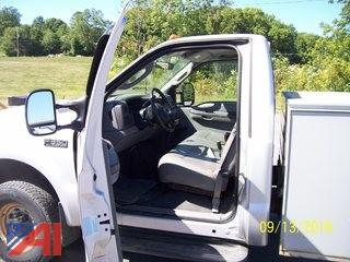 2003 Ford F350 XL Super Duty Utility Truck